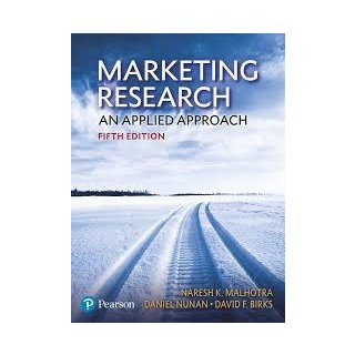 Marketing Research - An Applied approach 2019-2020 PIL