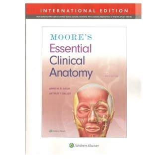 Essential Clinical Anatomy 6th Edition 2019-2020 PIL